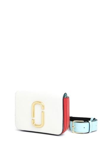 Marc Jacobs Askılı Deri Çanta Beyaz
